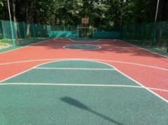 Coverings rubber for sports grounds