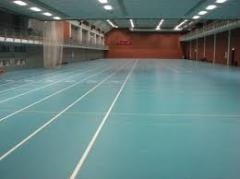 The covering is sports polyurethane