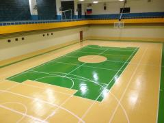 The covering is acrylic sports