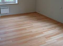 Parquet board from a larch