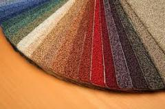 Carpet velors in assortmen
