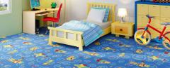 Carpet for nurseries in assortmen