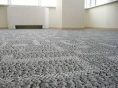 Floor covering from carpet in assortmen