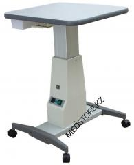 Electric instrument table