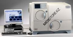 Automatic bacteriological analyzer of cultures of