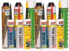 Sealants for construction works in assortmen