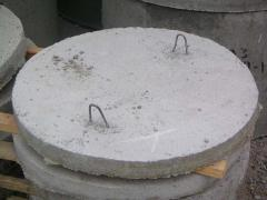 Плита днище колодца ПН 15 (диам 1,5м)
