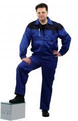 Костюм мужской Рейнир васильковый с т-синим Ursus, КОС591-031