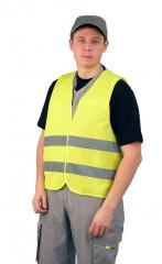 The vest is alarm lemon
