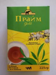 Prime tea Green sheet with the Jasmine 225 gr