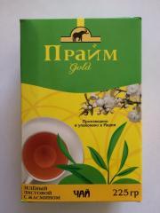 Prime tea Green sheet with the Jasmine 225 gr