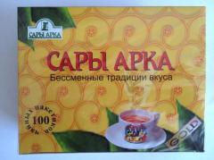 Sara Arch tea packaged
