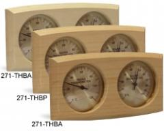 Thermo-hygrometer curved rectangle 0001
