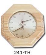 Термо-гигрометр восьмиугольный 0005