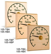 Thermo-hygrometer of plain cut 0021