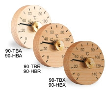 Thermo-hygrometer simple circle 90 0023