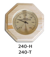 Thermo-hygrometer octagonal 0026