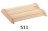 Деревянный подголовник 0001