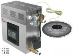 Парогенератор с 3-мя нагревательными элементами
