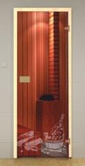 Дверь GLASSHOUSE Economy Line Sauna 5