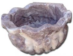 Курна мраморная серо-фиолетовая Афьон Мелоди. Тип К-4. (A)