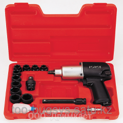 FORCE 4142 pneumonut wrench with set of shock
