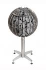 Elektrokamenka Globe GL70. Cubic meter sweating