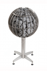 Elektrokamenka Globe GL110. Cubic meter sweating