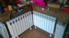 Биометалические и алюминевые радиаторы пр-во