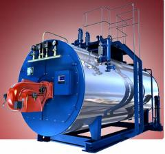 Boiler, gas, WNS6-1.25-YQ, boiler installation, heating equipment, boiler equipmen