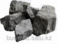 Gabbro stone - diabase for a kamenok