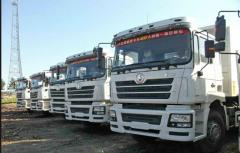 SHACMAN dump trucks