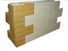 Thermoblocks with facing