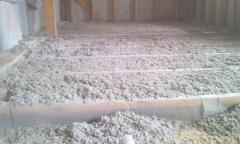 Sound insulation and noise-insulating materials
