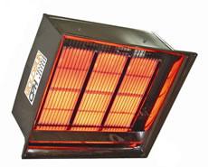 Gas infrared heating equipmen
