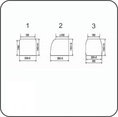 Брус переводной пропитанный тип А4-1