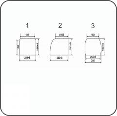 Брус переводной пропитанный тип Б2-2