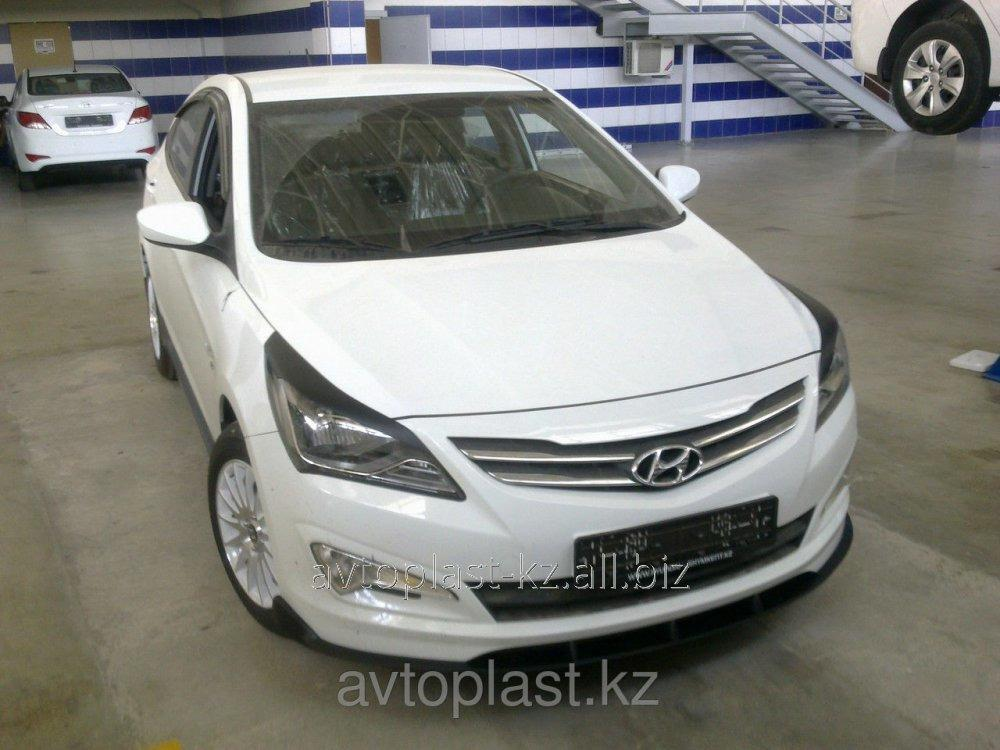 Pads On Headlights Of Eyelash Of Hyundai Accent Solaris 2014 Buy In
