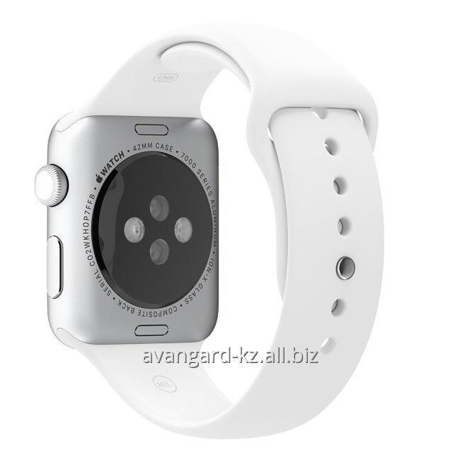 umnye_chasy_apple_watch_42_mm_stainless_steel_case_with_sport_band_white_mj3v2