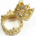 Кольцо в серебре К22 с золотом