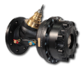 The combined adjusting valves (KTM 512) for systems warm and cold supply with a variable expense