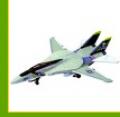 Самолет F-14A VF-84 ВЕСЕЛЫЙ РОДЖЕР, Игрушки разные