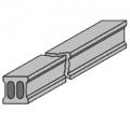 Пустотная предварительно напряженная мостовая плита дл. 18м
