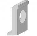 Портальная стенка оголовков круглых водопропускных труб СТ-8
