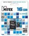 Флешка Micro SD Micro SD 16GB Mirex MicroSD