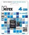 Флэшка Micro SD 4GB Mirex MicroSD