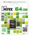 Флэшка Micro SD 64GB Mirex MicroSDXC