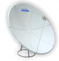 Антенны спутникового телевидения, Спутниковая антенна 1,8 сегментная, прямофокусная