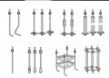 Шпильки фланцевые ГОСТ 9066-75