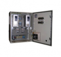 Cases of management with relay regulation for pumps and fans